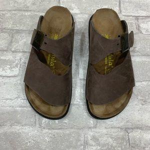 womens brown betula birkenstock sandals size 7
